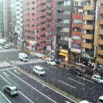 東京◆本部/雪舞う四ツ谷・新宿通り【本部スタッフ・日々の業務より】