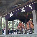 山梨◆八ヶ岳/高根町五町田・熱田神社のお神楽【八ヶ岳スタッフ・日々の業務より】