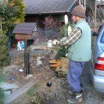 山梨◆八ヶ岳/メダカの引越し・今年も門松作っていただきました【事務所スタッフ・日々の業務より】