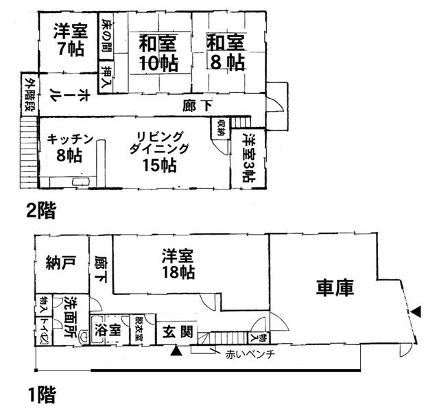 松川村間取り図