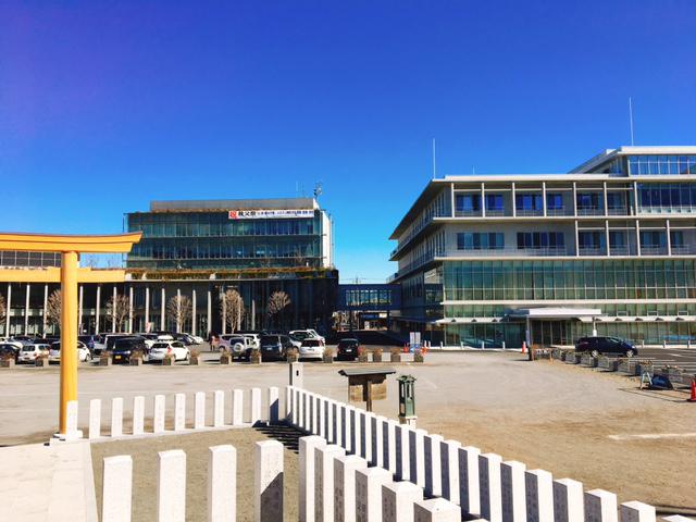 庁舎と歴史館