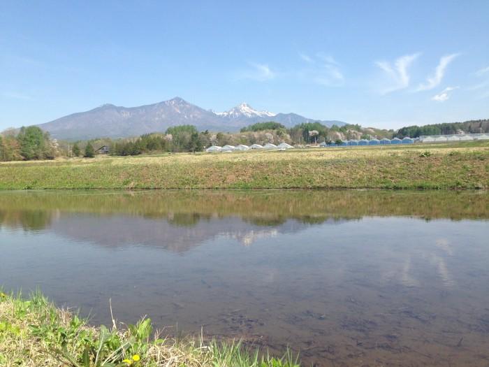 八ヶ岳の眺め