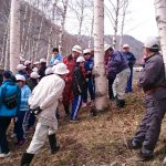岩手◆遠野/白樺樹液採取体験学習でございます【みちのく岩手・新遠野物語】